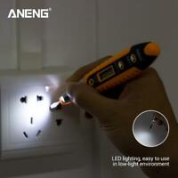 ANENG AC/DC 12-250V LCD Digital Voltage Test Pen Detector Tester Screwdriver