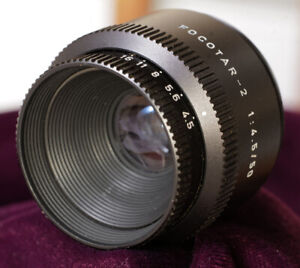 Leica Focotar-2 50mm f/4.5 enlarging lens