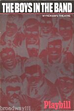 """Mart Crowley """"THE BOYS IN THE BAND"""" Kenneth Nelson 1969 London Cast Playbill"""