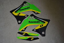 ONE INDUSTRIES DELTA GRAPHICS KAWASAKI KX250F KXF250  2009 2010 2011 2012