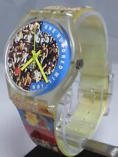 Vintage Swatch GENT The People One Hundred Million 1992