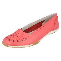 Down To Earth F80205 Mujer 100% Piel Cómodo Zapatos de Diario