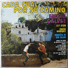 LP- Emilio Galvez- Cada Cual Por Su Camino- Azteca AM-8010- 1960's Latin