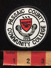 PASSAIC COUNTY COMMUNITY COLLEGE New Jersey Patch 84E