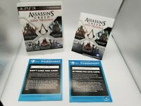 Assassin's Creed Ezio Trilogy PS3 Sony PlayStation 3 Complete FREE SHIPPING
