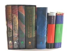 Harry Potter Book Set of 1 - 4 and Books 5 - 7 All Hardcover with  Dust Jackets