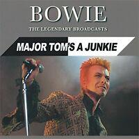 David Bowie Legendary Broadcasts: Major Tom's Junkie 3 CD set Digipak