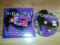Interactive CD Sampler Pack Volume Two Vol 2 - Sony PS1 PlayStation 1 ORIGINAL