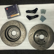 Front Brake Caliper Adapter Kit 324mm Nissan R32 GTR (Brake pads Not Included)