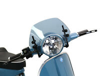 Vespa PX Screen Moto Nostra Smoked Small LML Star Black Brackets Flyscreen