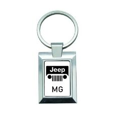 porte cles clef keyring luxe personnalise logo voiture Jeep vos initiales