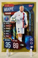 2019 Topps UEFA Champions League Match Attax Extra Hat-Trick Hero Kylian Mbappe