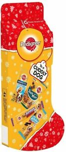 PEDIGREE Dog Christmas Stocking Filled With 4 Tasty Treats   BUY 2+ GET 20% OFF