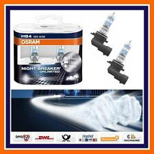 2X OSRAM HB4 Nightbreaker Unlimited + 110% FENDINEBBIA VW Golf V UP Passat