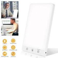 SAD Tageslichtlampe Dimmbar LED Lampe Lichttherapie 11000 LUX UV-freie 16W 6500K