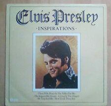 ELVIS PRESLEY   Vinyl LP Inspirations, EX+