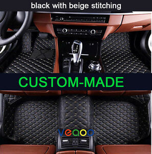Car Floor Mats for Benz S Class W222 Sedan 2014-2020 Custom-Fit All Weather