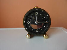 WINTAGE old Russian Soviet alarm-clock SLAVA 11 JEWELS very rare FOR THE BLIND 2