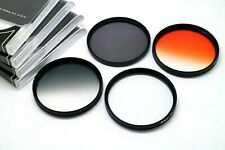 72mm Orange, Grey, 8 Point Star, ND4 Filter Set For Nikon Canon Sony Tamron Lens