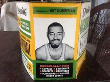 Wilt Chamberlain 1960s Nba Endorsed Spalding Basketball Mint/Nib and Display Box