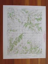 Brighton Illinois 1958 Original Vintage USGS Topo Map