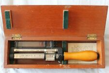 More details for e r watts cotton type mark ii rangefinder in original mahogany box, wwii vintage