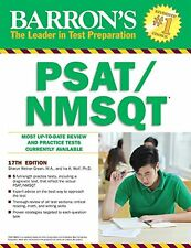 Barrons PSAT/NMSQT, 17th Edition by Ira K. Wolf Ph.D., Sharon Weiner Green M.A.