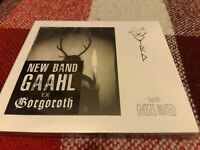 GAAHLS WYRD GastiR - Ghosts Invited NEW DIGIPAK CD (Black Metal) ex. GORGOROTH