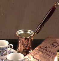 Turkish Emporium Copper Coffee Pot Greek Ibrik Cezve Mokkakanne Large Size