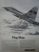 6-10/1974 PUB NORTHROP F-5E TIGER II INTERNATIONAL FIGHTER US AIR FORCE USAF AD