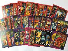 X-MEN SERIES II 38 Trading Cards Including G-3 Foil Stamped Juggernaut