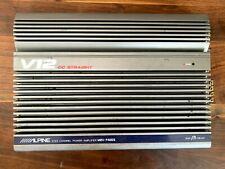 New listing Old School Alpine Mrv-F400S V12 4 channel Amplifier,Rare,flagship,J apan,Sq