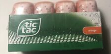 Tic Tac Mints, Orange Flavored 200 Mints 3.4 oz bottle, 4 pack sealed