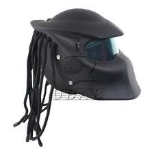 Unique ABS Fiberglass L Size  Predators helmet Custom Full Face Iron Man Mask