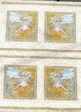 FATA QUADRATI IN TESSUTO D'ORO 112 x 112 cm-ogni quadrato è di circa 18 cm SQR (20 SQS)