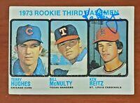 1973 Topps #603 Rookie Ken Reitz Cardinals RC Auto Signed Authentic Autograph