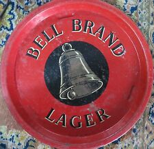 Vintage tin tray Bell Brand Leger Made In Gt Britain liquor advertise collection