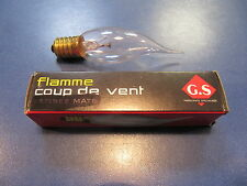Girard sudron Blast of Wind - Candle Bulb Clear Flame Coup de Vent E14 15w