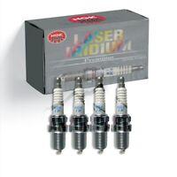 New 4 pcs NGK Laser Iridium Plug Spark Plugs 7556 IMR9E-9HES - Fast Free Ship!