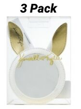 Kendall + Kylie Cosmetic Mirror White & Gold Bunny Ears
