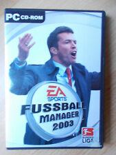 EA Sports FUSSBALL MANAGER 2003 - PC-Game - für Windows XP