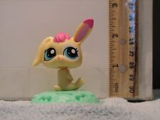 LITTLEST PET SHOP LPS YELLOW BUNNY RABBIT TOY