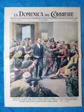 La Domenica del Corriere 13 giugno 1948 Kappler - Vic, Belluno - De Gasperi