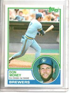 1983 TOPPS DON MONEY (NM/MT OR BETTER) //