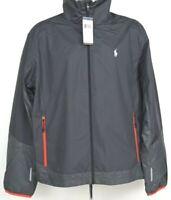 NEW Polo Sport Ralph Lauren $130 Performance Windbreaker Jacket Gray Men's, 2XL