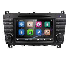 Für Mercedes Benz C-Klasse W203 C230 Autoradio GPS NAVI RDS BT DVR Touchscreen