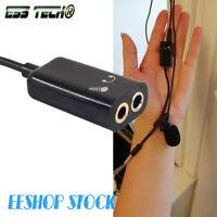 Cable Adaptateur 2x jack 3.5mm femelle séparateur de voie casque micro 15 Cm