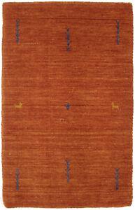 Small Tribal Design Lori Gabbeh 2X3 Hand-Loomed Oriental Rug Kids Room Carpet
