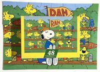 Vintage Springbok Jigsaw Puzzle Go Team Snoopy 48 Pieces Complete