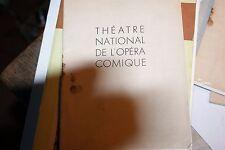 Programme du Théâtre National de L'Opéra Comique - mireille novembre 1948
